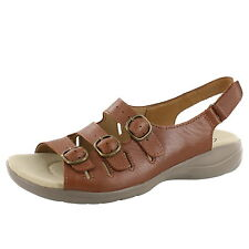 WOMEN CLARKS SAYLIE MEDWAY SANDAL 26108571 TAN LEATHER