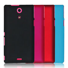 Matte Rubber Hard PC Back Case Cover Skin For Sony Xperia ZR M36H C5502 C5503