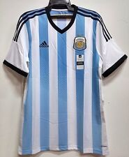 BNWT ARGENTINA AUTHENTIC HOME WORLD CUP KIT FOOTBALL SOCCER JERSEY TRIKOT 2014