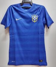 BNWT BRAZIL AWAY AUTHENTIC WORLD CUP KIT FOOTBALL SOCCER JERSEY TRIKOT 2014