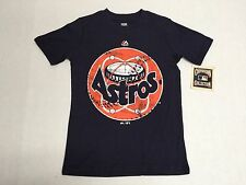 Houston Astros Official Majestic MLB CoopersTown Collection Youth T-Shirt New