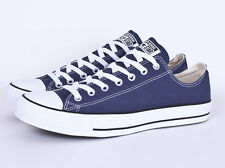 New Converse Chuck Taylor All Star Low - Navy Blue Canvas Shoes - Lo - 8 9 10 11