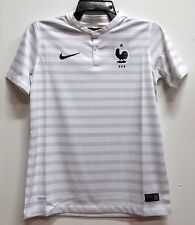 BNWT FRANCE LES BLUES AWAY WORLD CUP YOUTH KIDS BOYS FOOTBALL SOCCER JERSEY 2014