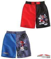 New Boys Super Mario Swimming Shorts Trunks Supermario Age 4-10 Years