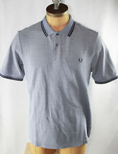 AUTH Fred Perry Men Slim Fit  Twin Tipped Polo Shirt