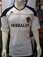 Adidas Los Angeles Galaxy Soccer '10-'11 Home Replica Jersey White NWT
