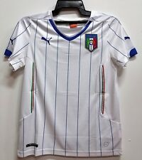 BNWT ITALY ITALIA AWAY WORLD CUP YOUTH KIDS BOYS FOOTBALL SOCCER JERSEY 2014