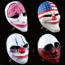 Payday 2 Mask Heist Joker Costume Cosplay Prop Gift Game Board for Dallas  XD