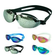 Waterproof Adult Anti-Fog 100% UV Swimming Goggles Adjustable Strip Glasses B13