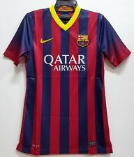 BNWT FC BARCELONA HOME AUTHENTIC FOOTBALL SOCCER JERSEY TRIKOT 2013 2014