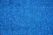 Dean Indoor/Outdoor Blue Artificial Grass Turf Carpet/Area Rug w/Marine Backing