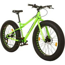 26 Inch Coyote Fatman FAT BIKE FAT TYRE 4.0 MTB Bicycle Mountain Bike Shimano