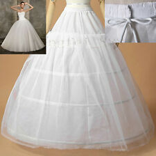 3 hoop 1 layer / 4 hoop 1 layer Underskirt Petticoat Wedding Dress