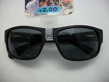 NWT BLACK BIFOCAL READING SUN GLASSES TINTED LENS VARIOUS POWERS by Foster Grant