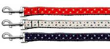Anchors Dog Leash * Nautical Anchor Patriotic Puppy Lead * USA American 4th July