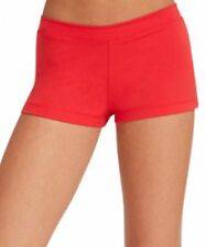 Capezio Girl Low Rise Booty Boy Cut Shorts Red Hot Pink Blue Black All Sizes New