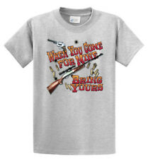 When You Come For My Guns Printed T Shirt Reg and Big and Tall Size Port & Co