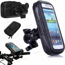 Mobile Bicycle Motor Bike Handle Bar Holder Rain Case Cover For Mobile Phone's