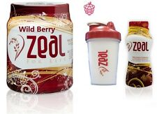 READY FOR GOING- ZEAL FOR LIFE-WELLNESS DRINK-WILD BERRY/BOLD GRAPE/TROPIC DREAM