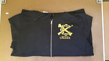 Crooks & Castles Men's Knit Jacket Zip Up Hoodie Black,Red,Grey CSTC Size M-5XL