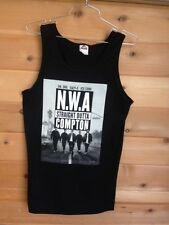 NWA COMPTON T shirt TANK TOP MENS GUYS Dr.Dre Eazy-E Ice Cube Tee Hip-Hop Beats