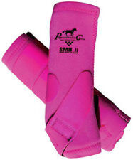 Professionals Choice SMB II Horse Medicine Boots Pink Raspberry Med Tack