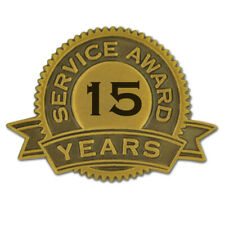 15 Years of Service Award Lapel Pin