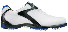 FootJoy Hydrolite Golf Shoes 50031 White/Black/Blue Mens Closeout New
