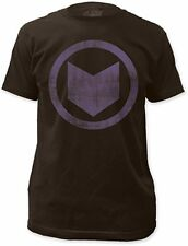 Avengers Hawkeye Distressed Symbol Marvel Comics Licensed Adult Shirt S-2XL
