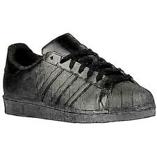 adidas Originals Superstar - Men's Basketball Shoes (BK/BK/BK Width:Medium)