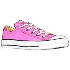 Converse All Star Ox - Girls' Primary School Basketball Shoes (Pink)