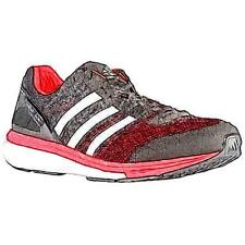 adidas adiZero Boston 5 - Men's Running Shoes (BK/WT/Solar YL Width:Medium)