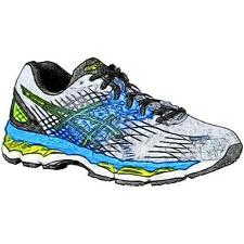 ASICS® GEL-Nimbus 17 - Men's Running Shoes (LTning/BK/Flash YL Width:Medium)