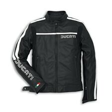 Ducati Dainese Men's Leather Jacket Leather Jacket 80's black NEW