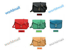 Fashion Women's Vintage Style PU handbag Purses Crossbody Shoulder Messenger bag