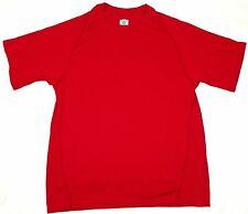 NFL Equipment Shirt Men's Play Dry Performance Loose Fit SS Tee Reebok Red