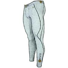 SKINS A200 Compression Tights - Men's Running Clothing (Grey Marl)