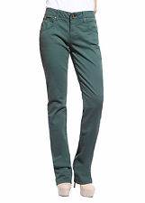 Womens Pencil Slim Fit Jeans Pants Straight Leg Denim Stretchy Trousers 24-28""