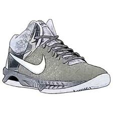 Nike Air Visi Pro VI - Men's Basketball Shoes (Anthracite/Wolf GY/Cool GY/Metal