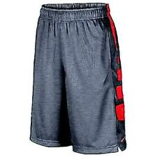 Nike Elite Stripe Basketball Shorts - Boys' Primary Sch. (BK/University RD/Univ