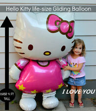 HUGE HELLO KITTY FOIL HELIUM GAS AND AIR  BALLOONS FOR YOUR LOVELY GIRL GIFT