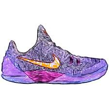 Nike Kobe Venomenon 5 - Men's Basketball Shoes (Court Purple/Total OR/Cave Purp