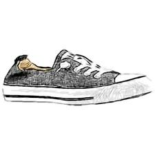 Converse All Star Shoreline Slip - Women's Casual Shoes (Black Width:Medium)