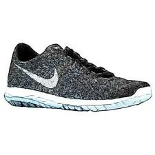 Nike Flex Fury - Men's Running Shoes (BK/WT/Wolf GY/Cool GY Width:Medium)