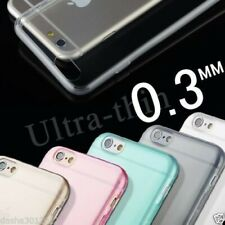TPU SOFT SILICONE CLEAR GEL BACK CASE COVER FOR iPHONE 6 6S