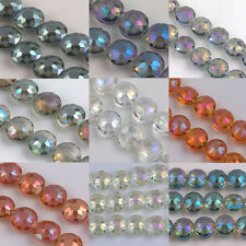 Hot Wholesale 5/10Pcs Glass Crystal Crafts Charm Bead Findings DIY Gift 14x10mm
