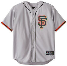 San Francisco Giants Jersey Men's MLB Baseball Replica Grey Big