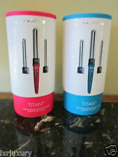 NuMe Titan 3  Curling Wand 3 wand size   Turquoise Blue or Pink