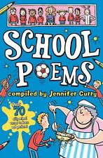 NEW School Poems by Jennifer Curry Paperback Book Free Shipping