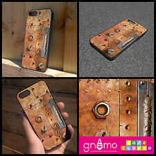 RUSTY METAL STEAM PUNK MATERIAL PRINT iPhone Samsung HTC Hard/Rubber Case Cover